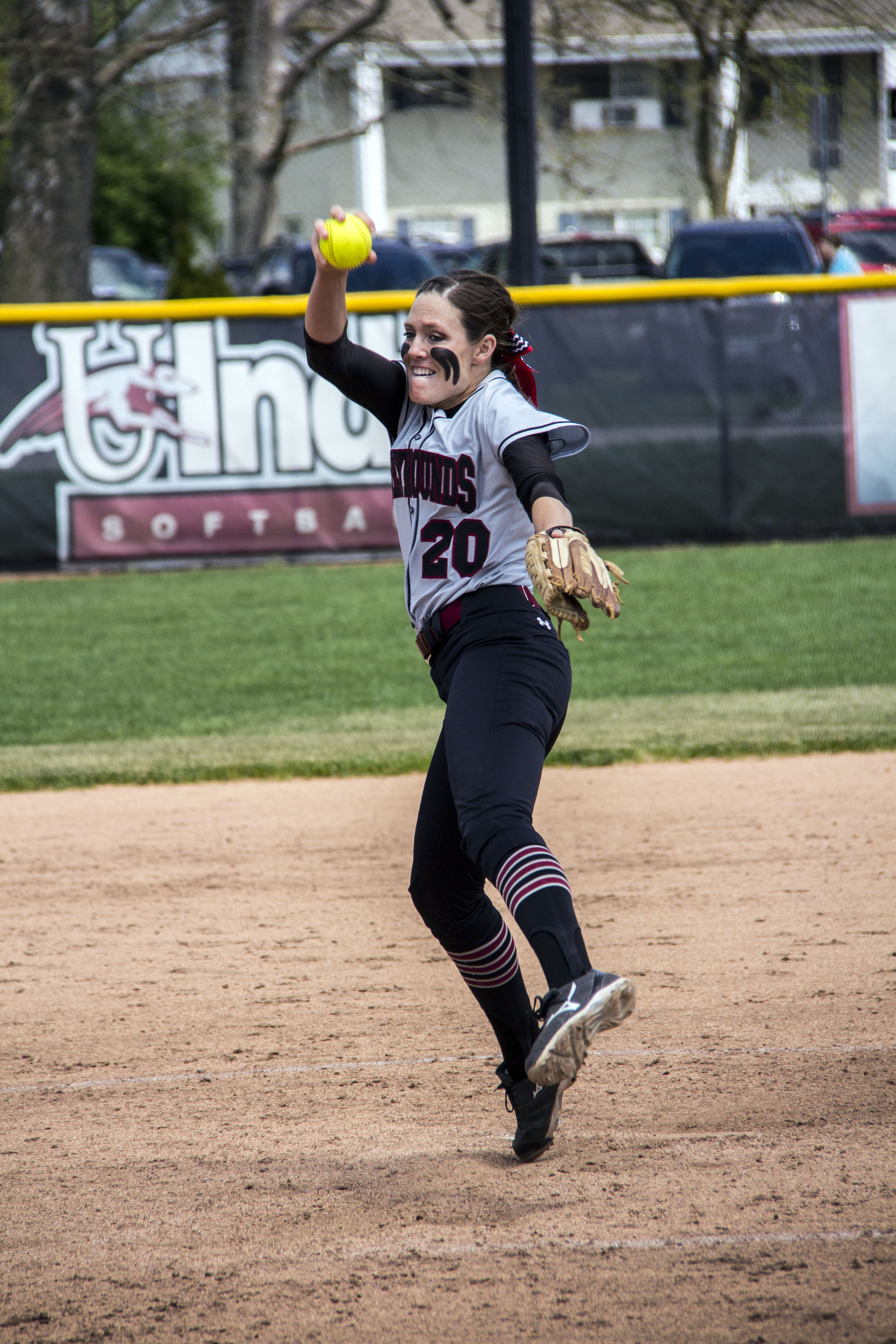 University of Indianapolis alumna and Chicago Bandits pitcher has received a nomination for the United States Sports Academy's Female Athlete of the year award. Photo by Cassie Reverman