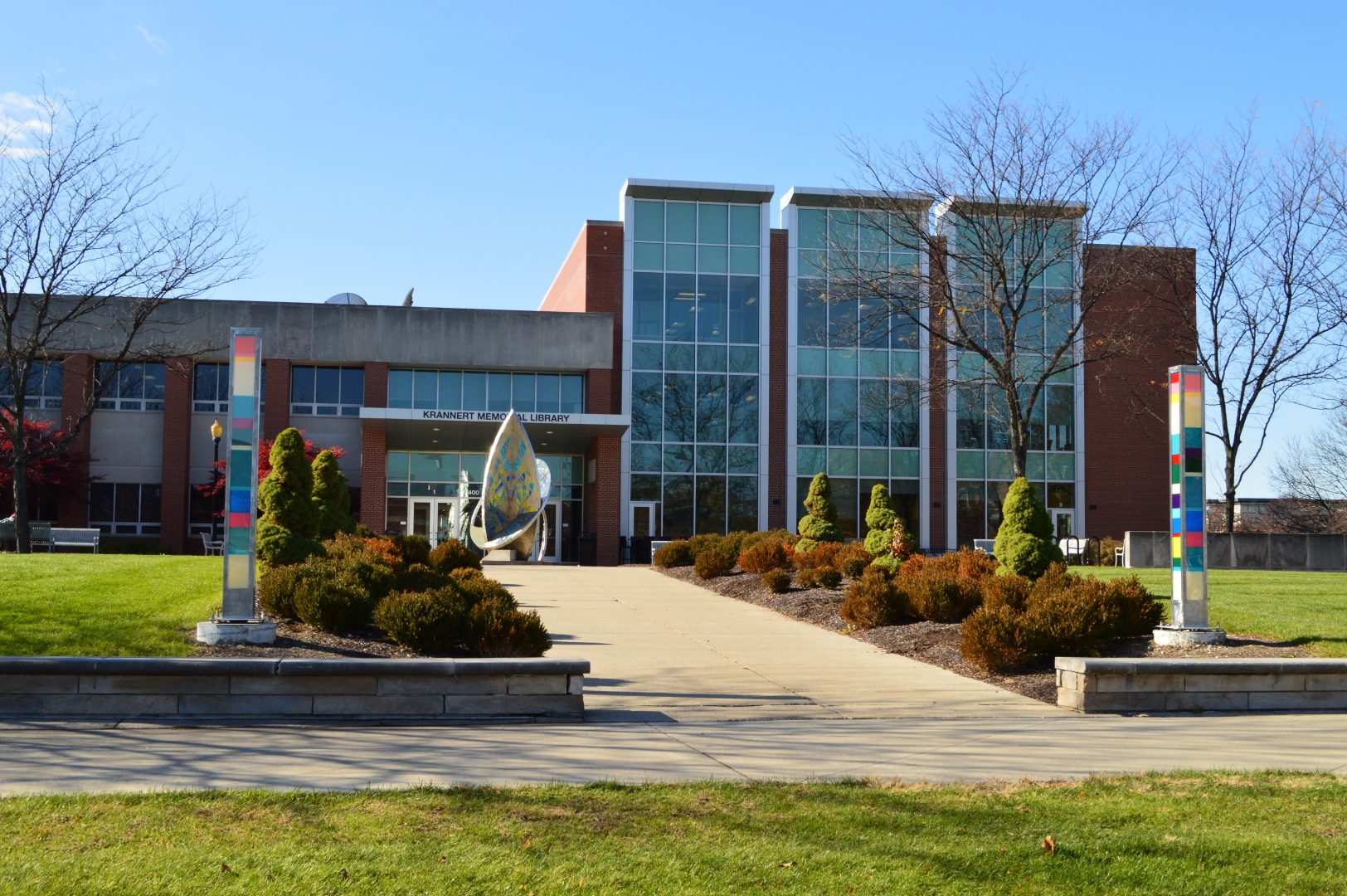 The University of Indianapolis' Krannert Memorial Library.