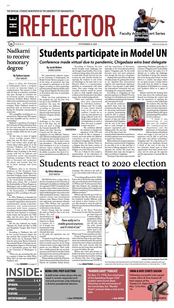 Nov. 25, 2020 Front Page